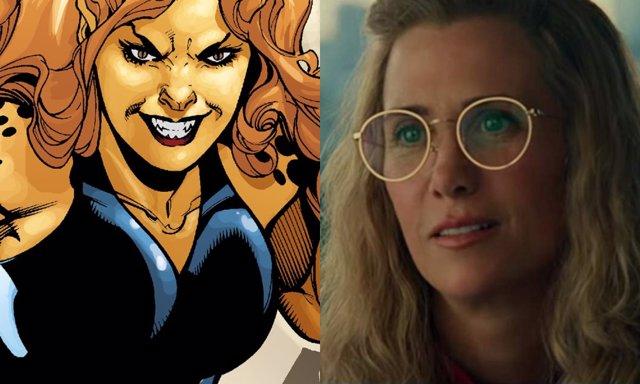 Kristen Wiig es Cheetah en Wonder Woman 1984