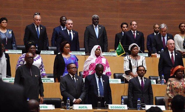 Cumbre de la Unión Africana en Adis Abeba