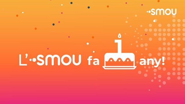 L'app Smou de Barcelona compleix un any amb més de 160.000 usuaris i tres milions d'operacions.