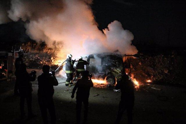 Ataques en Idlib
