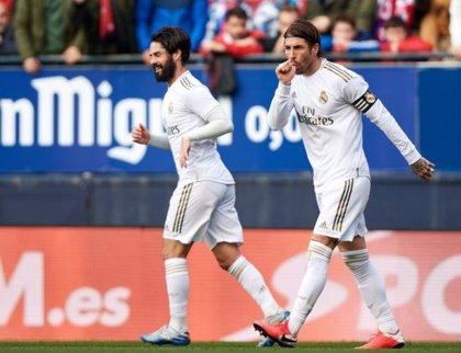 El Real Madrid olvida la Copa en El Sadar