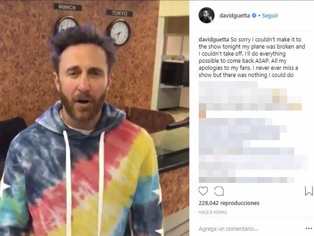 El Dj francés David Guetta canceló su concierto en Santander alegando problemas técnicos en el vuelo privado que le tenía que traer desde Moscú (archivo)