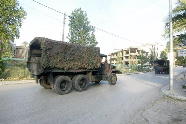 Líbano.- Dos militares muertos en Líbano en una operación para detener a un fugi