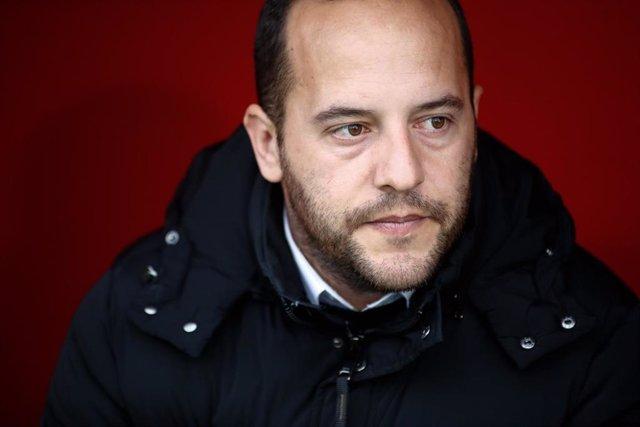 Lluís Cortés, entrenador del FC Barcelona.