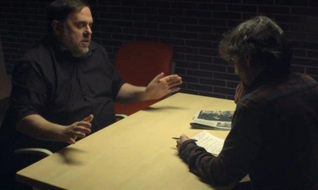Jordi Évole entrevista a Orion Junqueras a la presó