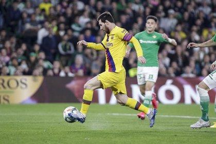 Messi sigue Pichichi pese a su tercer partido sin marcar