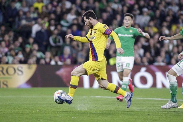 Fútbol/Pichichi.- Messi sigue Pichichi pese a su tercer partido sin marcar