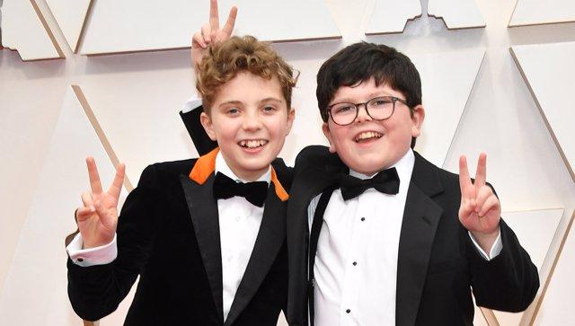 Protagonistas de Jojo Rabbit en los Oscar