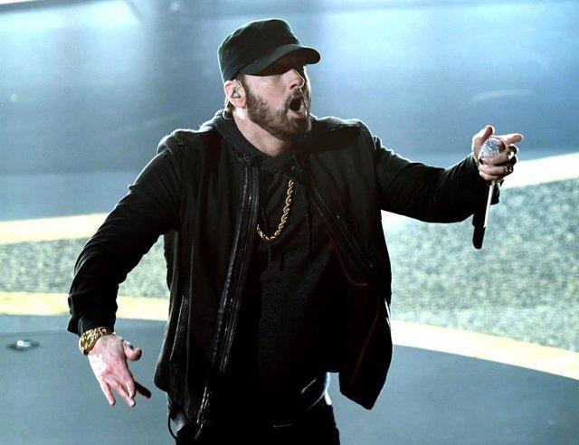 Actuación sorpresa de Eminem en los Oscar