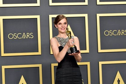 "Oscar 2020: El poderoso discurso feminista de Hildur Gudnadóttir, compositora de Joker: ""Mujeres, alzad la voz"""