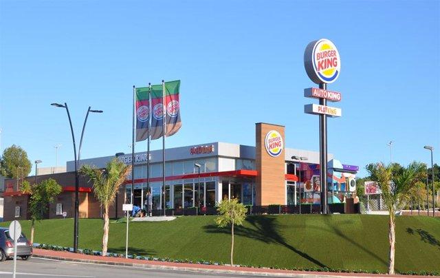 Burger King abre un nuevo establecimiento en Coín (Málaga).