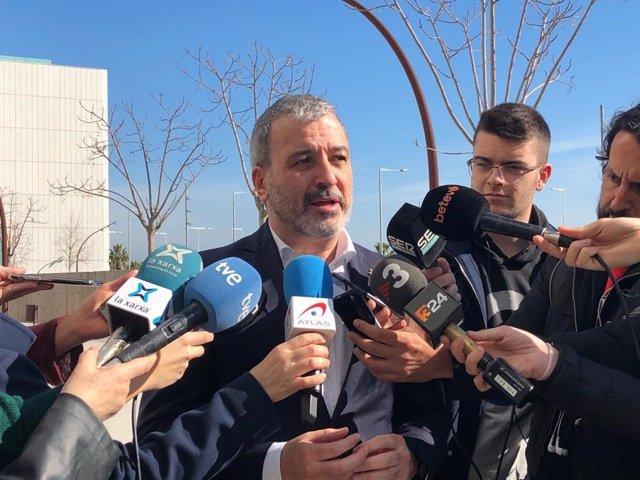 El primer tinent d'alcalde de Barcelona, Jaume Collboni, en declaracions als mitjans el 10 de febrer del 2020.