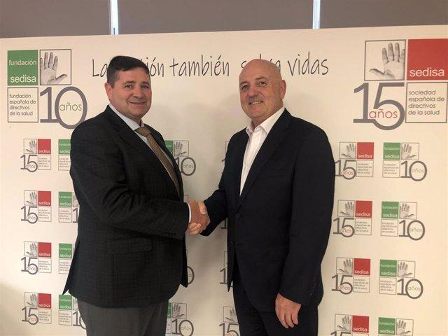 Firma del acuerdo entre Grupo OAT y SEDISA