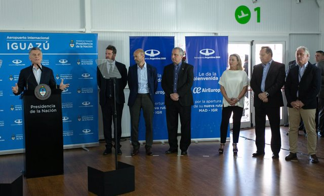 Economía/Empresas.- Air Europa asegura que la ruta entre Madrid e Iguazú se mant