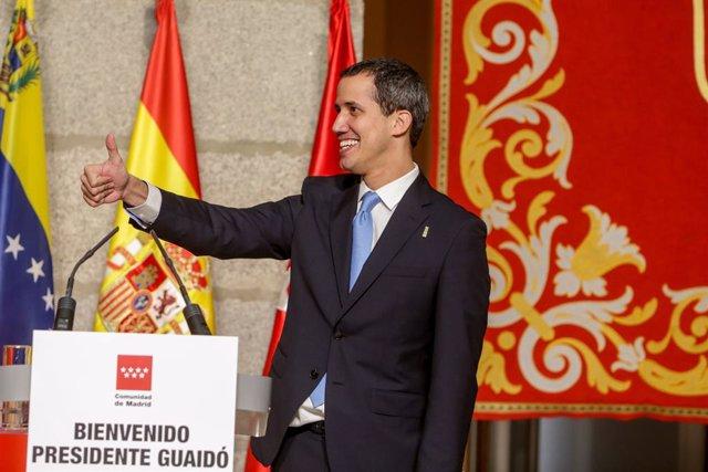 """Venezuela.- Guaidó asegura que volverá """"pronto"""" a Venezuela tras su extensa gira"""