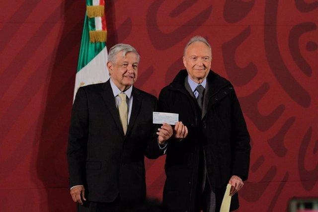 Andrés Manuel López Obrador y Alejandro Gertz Manero