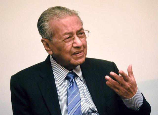 El primer ministre de Malisia, Mahathir Mohamad.