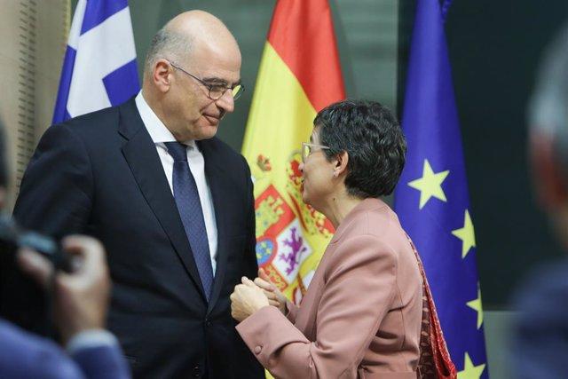 VÍDEO: España/Grecia.- España busca aunar fuerzas con Grecia para reforma de la