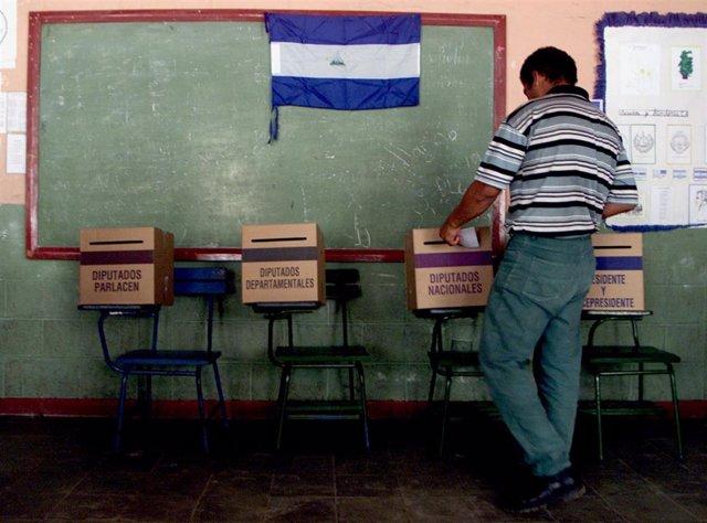 Elecciones presidenciales en Nicaragua (Imagen de archivo)