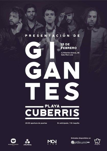 Playa Cuberris presentan disco en Madrid