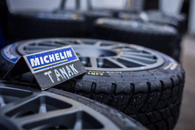 Neumáticos de Michelin.
