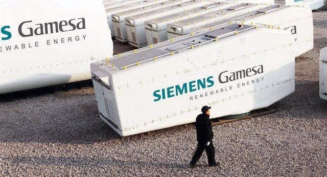 Aerogeneradores de Siemens Gamesa