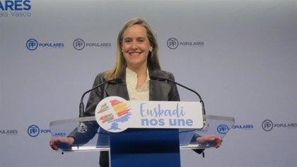 """Fernández (PP) acusa a Urkullu de """"buscar escabullirse de rendir cuentas"""" y evitar """"el coste"""" que tendría en octubre"""
