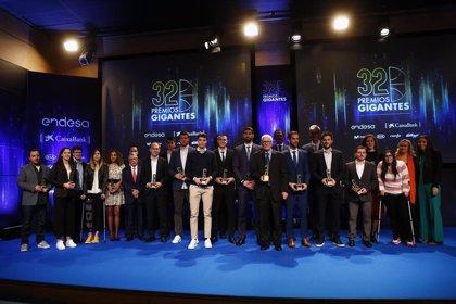 Calderón, las selecciones o Kobe Bryant, homenajeados en los Premios Gigantes