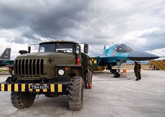 Siria.- Rusia derriba dos drones cerca de la base de Hmeimim, en Siria