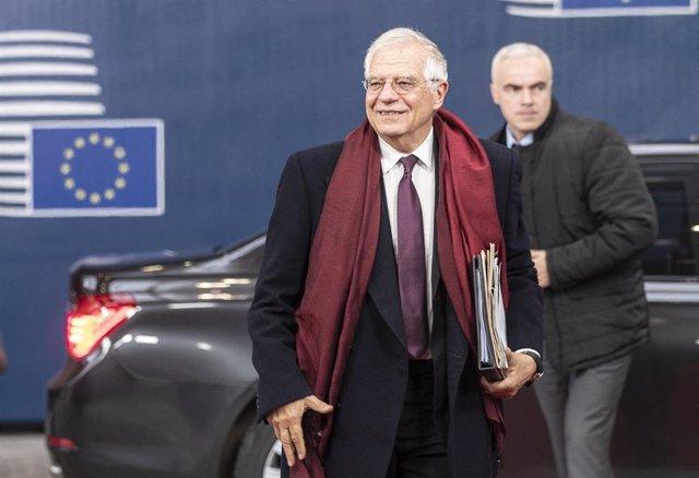 El Alto Representante de la Unión Europea para Política Exterior, Josep Borrell.