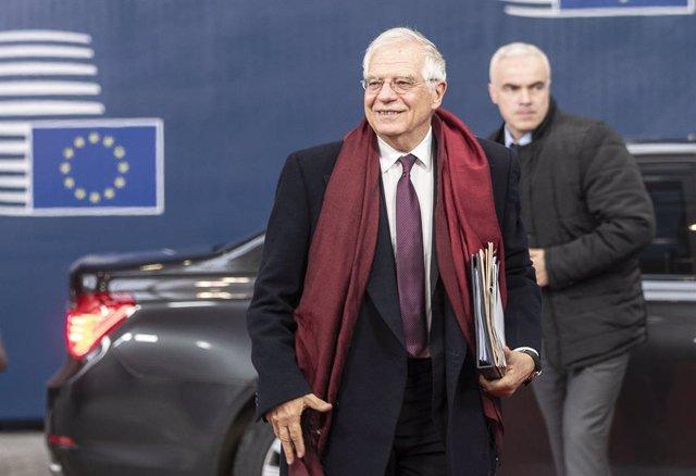 Europa.- Borrell cree que una misión naval europea en Libia podría evitar las ru