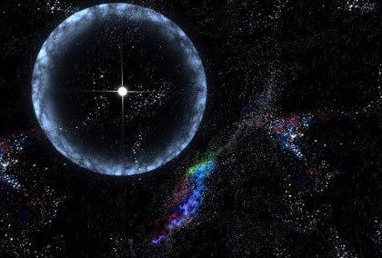 Primera señal FRB con patrón repetitivo, a 500 millones de años luz