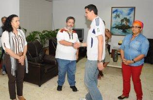 José Tarache en las negociacionesde paz en La Haba