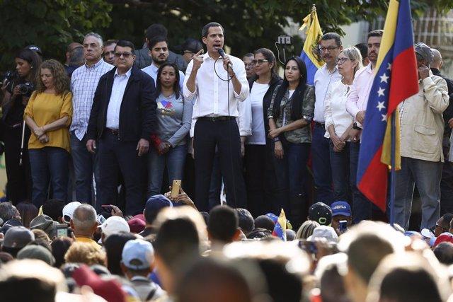 "Venezuela.- Guaidó insta a ""reactivar"" las protestas en Venezuela para acompañar"