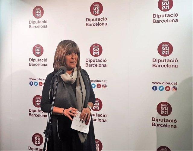 La presidenta de la Diputació de Barcelona, Núria Marín