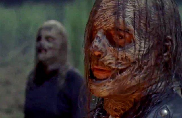 Negan en la temporada 10 de The Walking Dead