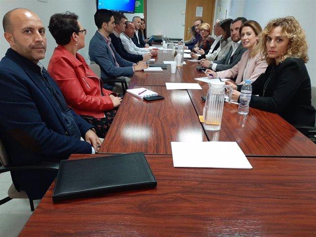 Miembros de la Comisión de trabajo de Haciendas Locales y Financiación Local de la FAMP