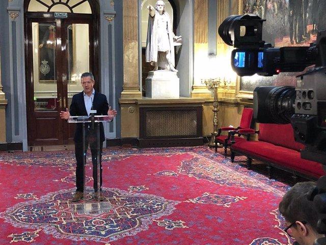 El portaveu del PSOE al Senat, Ander Gil.