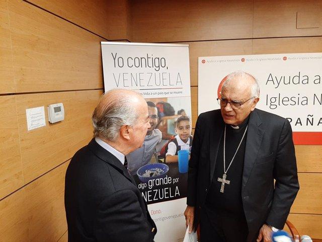 """AMP.- El cardenal venezolano Baltazar Porras pide """"transparencia"""" tras la """"visit"""