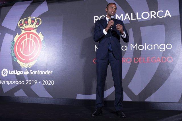 Fútbol.- El Mallorca decide prescindir de Maheta Molango como Consejero Delegado