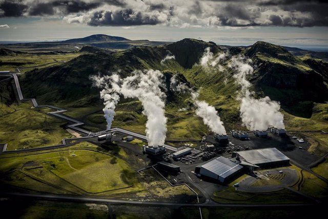Planta de energía geotérmica Hellisheidi
