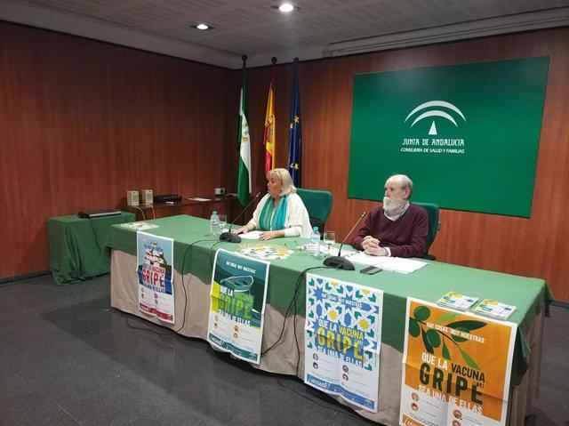 La delegada territorial de Salud y Familias en Huelva, Manuela Caro.