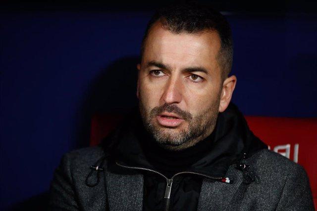 Diego Martínez, técnico del Granada
