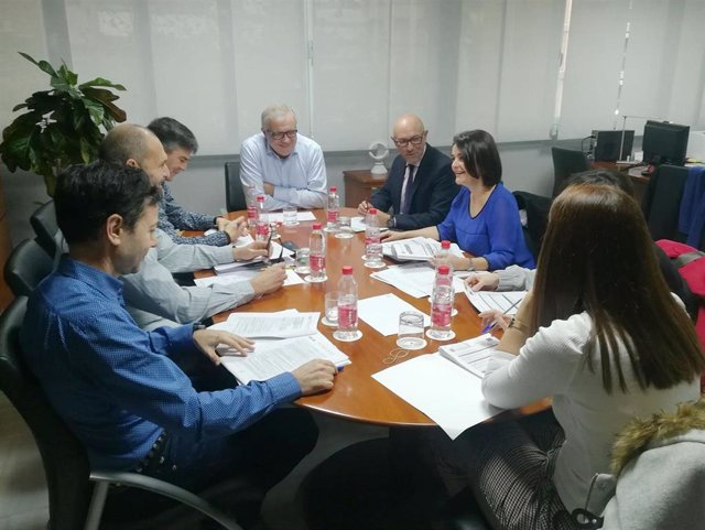 Comisión de valoración provincial de la agencia IDEA en Almería