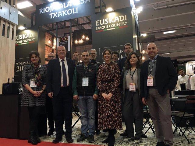 Arranca en París el programa de promoción internacional de las bodegas de Euskad