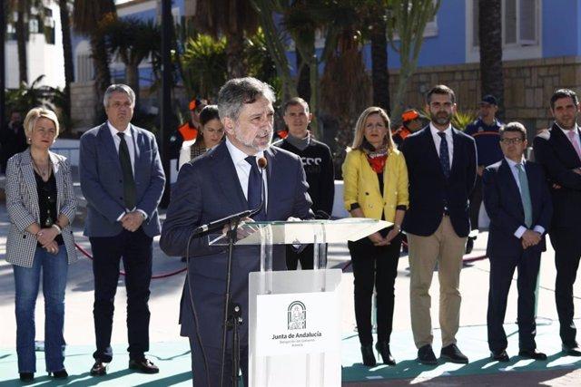 El vicepresidente de la Diputación participa en los actos del 112 Andalucía
