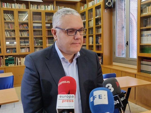El coordinador de l'equip de protecció de la Infància de Maristes Catalunya, Raimon Novell.
