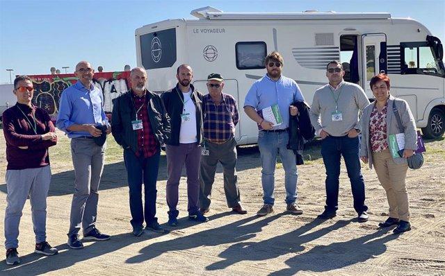 Comunicado Y Fotografía Adelante Málaga Turismo Caravanas