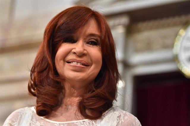 La ex presidenta y ahora vicepresidenta de Argentina, Cristina Fernández de Kirchner