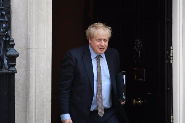11 February 2020, England, London: UK Prime Minister Boris Johnson leaves Downing Street, following a meeting of the Cabinet. Photo: Stefan Rousseau/PA Wire/dpa